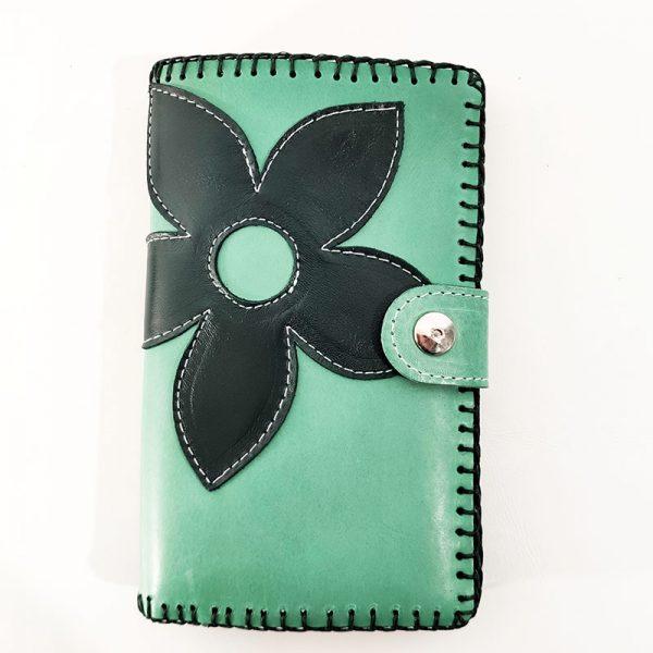 billetero flor verde