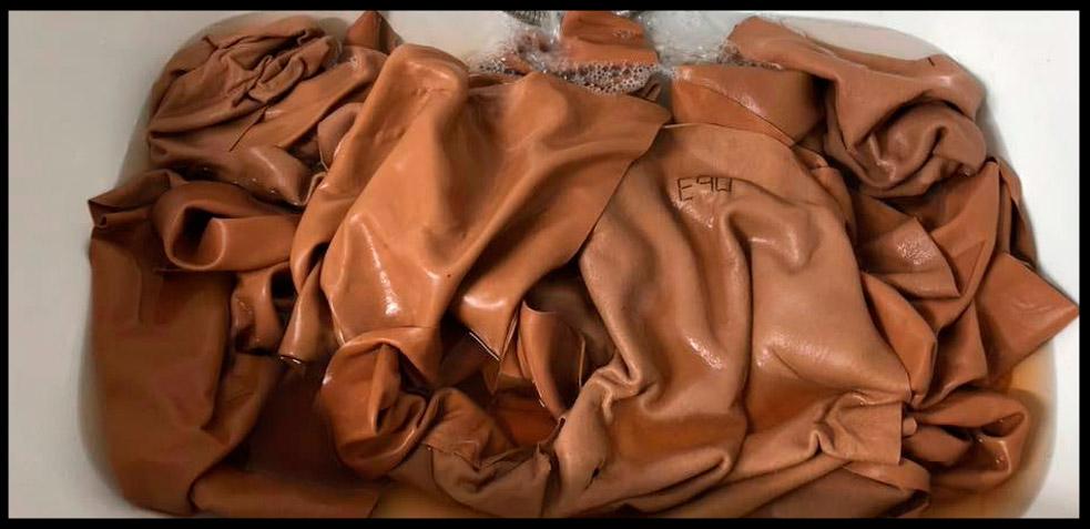 cómo hacer un bolso de piel