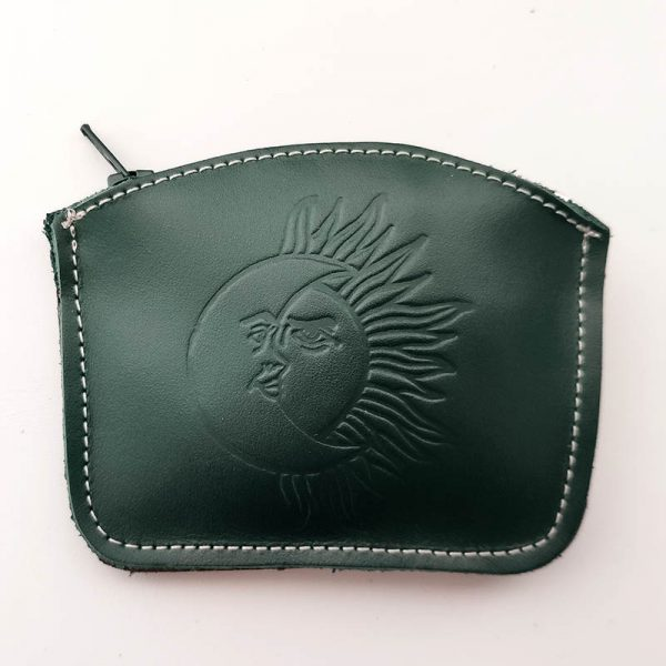 monedero eclipse verde