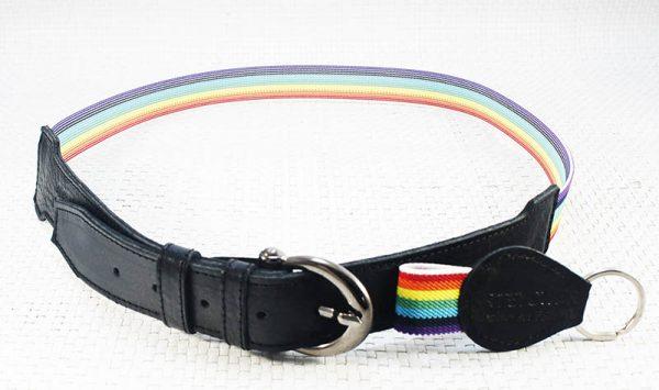 Cinturón bandera multicolor