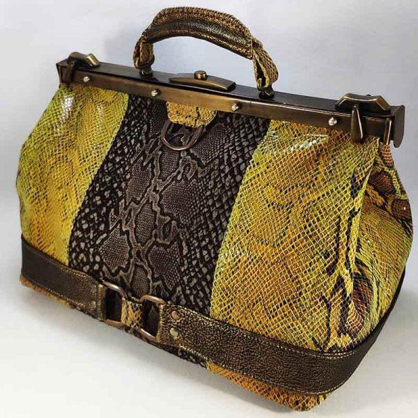 bolso maletín piel