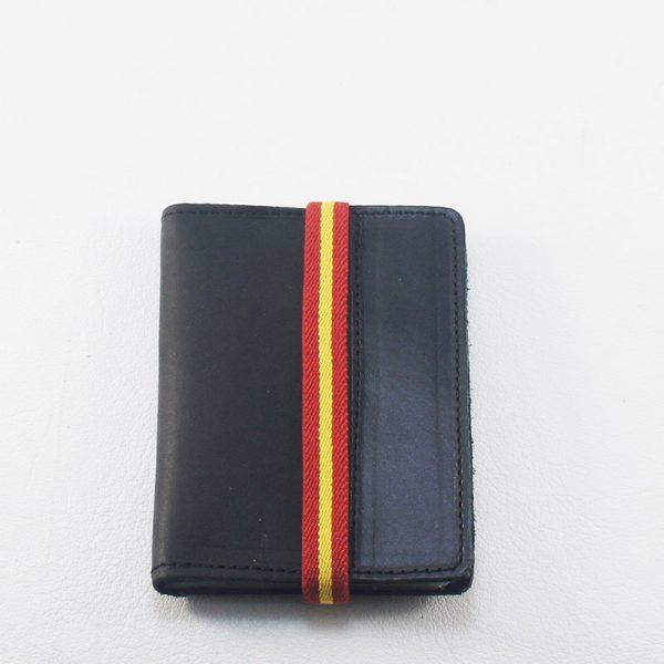 Tarjetero piel bandera España